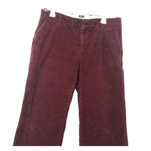 Gap Wide Leg Corduroy Pants Wide Leg 12A